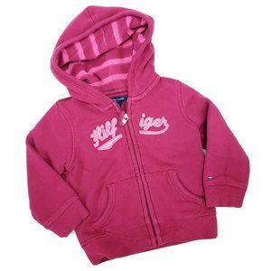 Tommy Hilfiger Girls Pink Sweatshirt 18 M